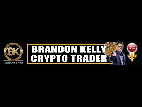 Brandon Kelly Crypto Trader Live Stream 🔴 Free Crypto Market Analysis & Cryptocurrency News