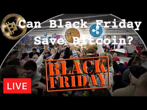 Can Black Friday Save Bitcoin 🙏Price Prediction | BTC Today $4579 USD | Free CryptoTrader News