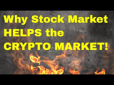 Why the Stock Market BLOODBATH will HELP Crypto!