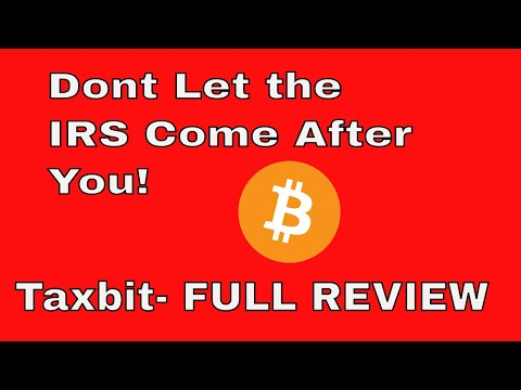 Dont Let the IRS Come After You!  | Taxbit FULL Review