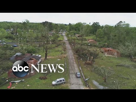Clean up begins after severe weather outbreak
