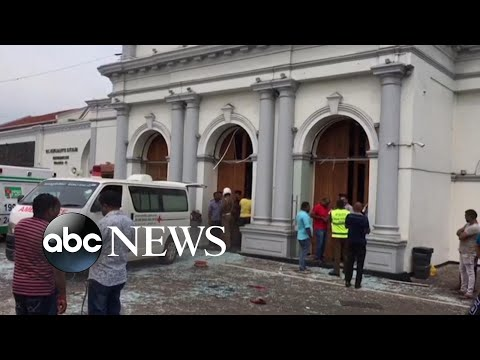 Multiple bomb explosions rocking churches and hotels in Sri Lanka