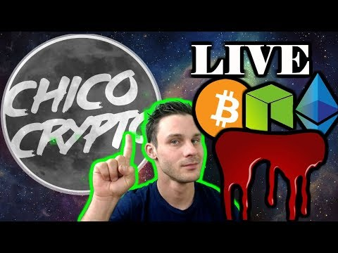 Its Blooody!!Are We Catching A Falling Knife🔪?--Jordan Belfort Thinks So--Chico Live $BTC $NEO $ETH