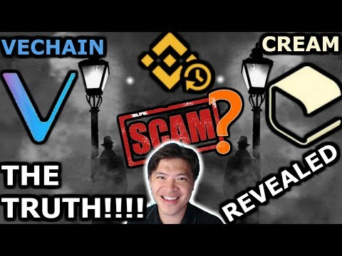 Vechain thee VESCAM? Boxmining-Binance-Cream Involved | Part 1…$vet $vthor