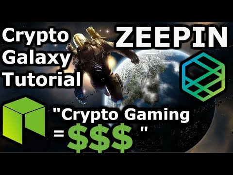 NEO Crypto Gaming   Zeepin Crypto Galaxy Tutorial   Make 💲💲 Playing   GalaCloud Passive 💰💰