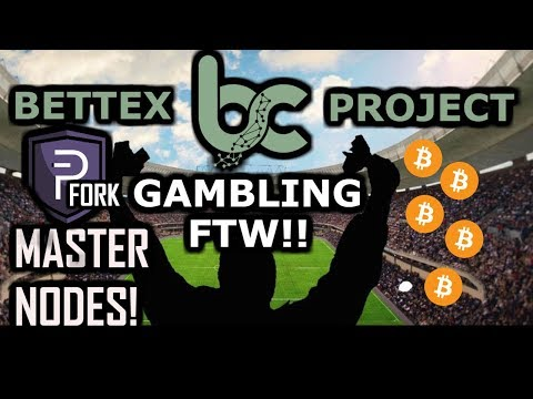 Bettex: PIVX Fork Sport Betting Dex-Masternodes: 500% ROI Mass Adoption w/ Gambling