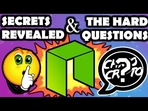 Asking NEO The Hard Questions, Their Darkest Secrets Revealed.....$NEO $GAS $ONT $ONG
