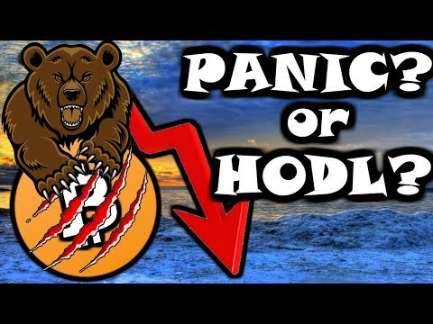 To PANIC or To HODL?? That is the Question......Live Crypto Giveaway🎉🎉