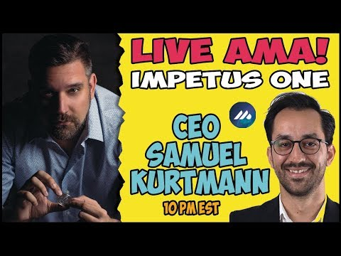 Live with Impetus One CEO Samuel Kurtmann - Token Giveaway!!!