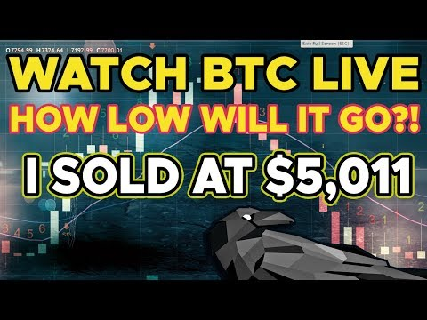 Part 2: BITCOIN BTC Going To Crash? Watch It LIVE.