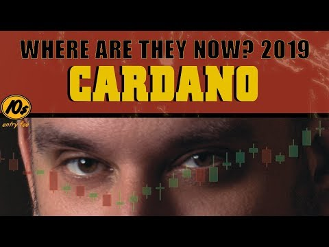 Where Are They Now Cardano ADA