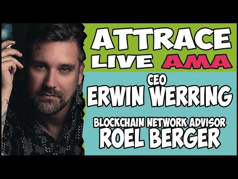 ATTRACE Live AMA with ERWIN WERRING and ROEL BERGER 👥