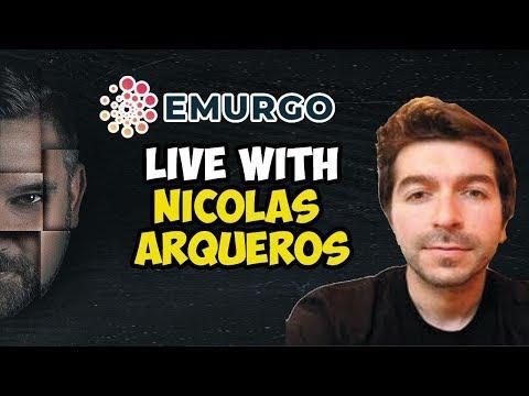 Live With EMURGO Nicolas Arqueros - A Global Cardano ADA