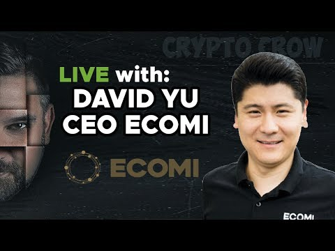 Live w/ David Yu - CEO of ECOMI - Digital Collectibles on the Blockchain 😻