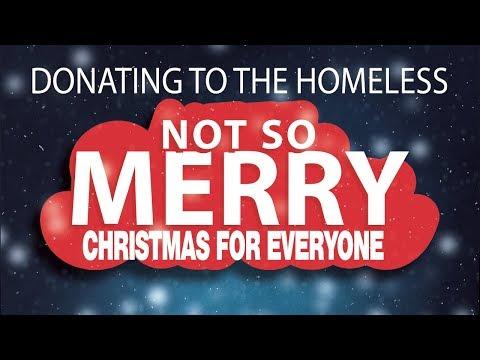 Not So Merry Christmas For The Homeless