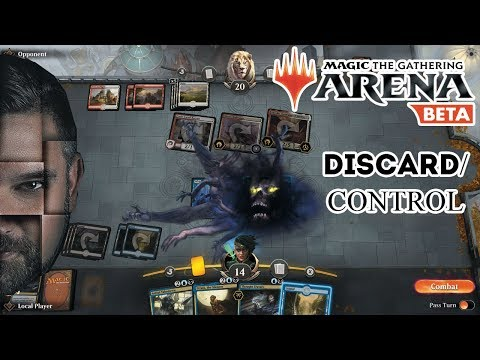 MTG Arena - Blue/Black Discard Control - Crypto Gaming Hangout 🤓 Magic The Gathering Live Play