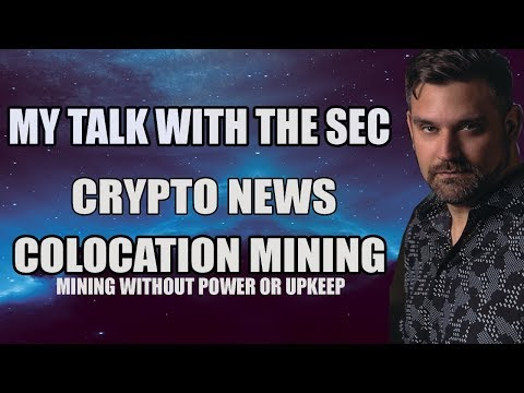 My Talk With The SEC FinHub Division - Mining Without Power - Crypto News