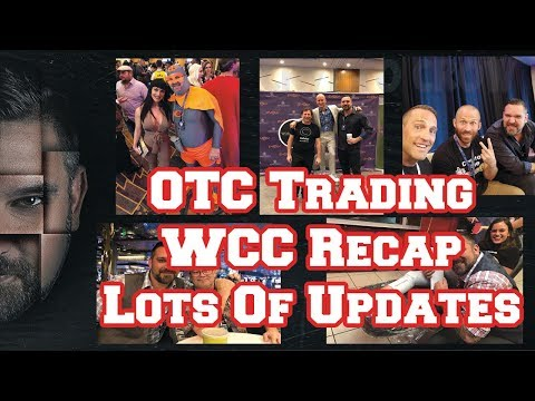 WCC Recap - OTC Trading - Crypto Updates - Lets Hang Out