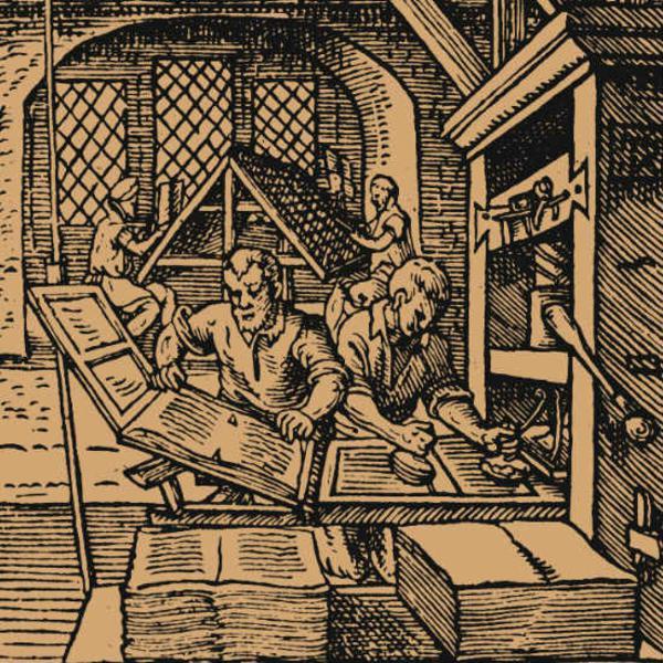 מכונת הדפוס של גוטנברג