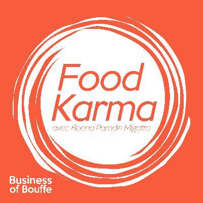 Food Karma #2 | Krotoum Konaté – Nutrithérapeute | Tout savoir sur le microbiote, notre deuxième cerveau !