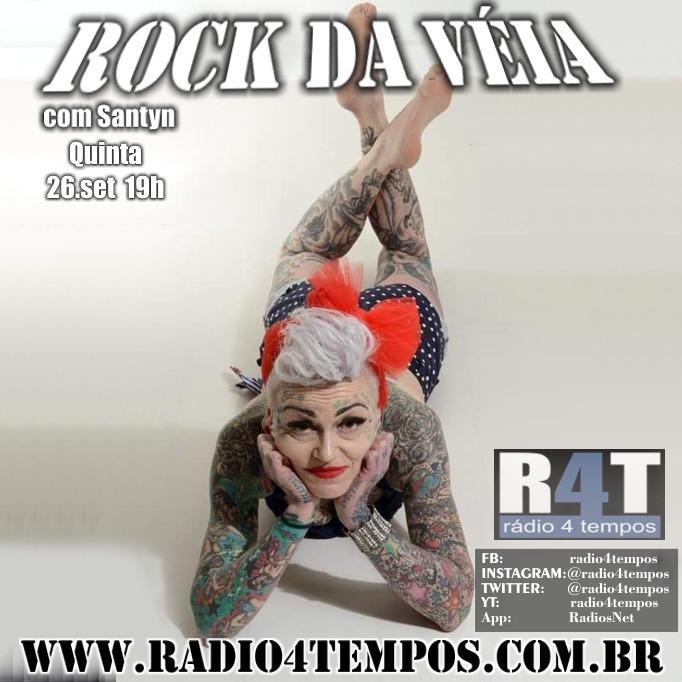 Rádio 4 Tempos - Rock da Véia 70:Rádio 4 Tempos