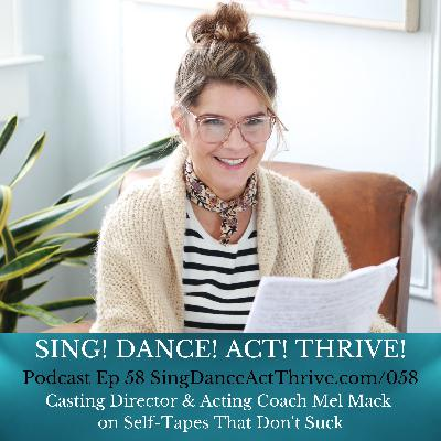 Casting Director & Acting Coach Mel Mack on Self-Tapes That Don't Suck