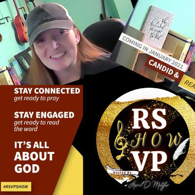Introducing the R.S.V.P. Show hosted by April D. Metzler
