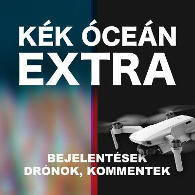 Kijárási tilalom & új DJI drón & vicces kommentek | Kék Óceán Podcast Extra #45