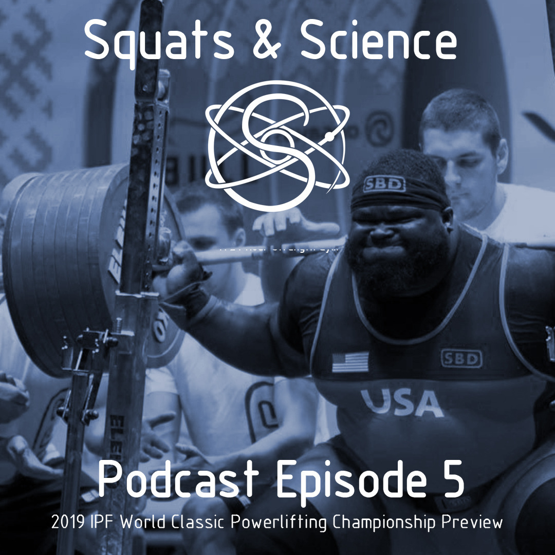 Episode 5 - 2019 IPF World Classic Powerlifting Championship Preview