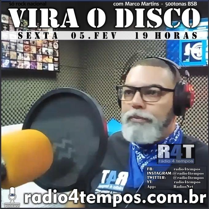 Rádio 4 Tempos - Vira o Disco 86:Marco Martins