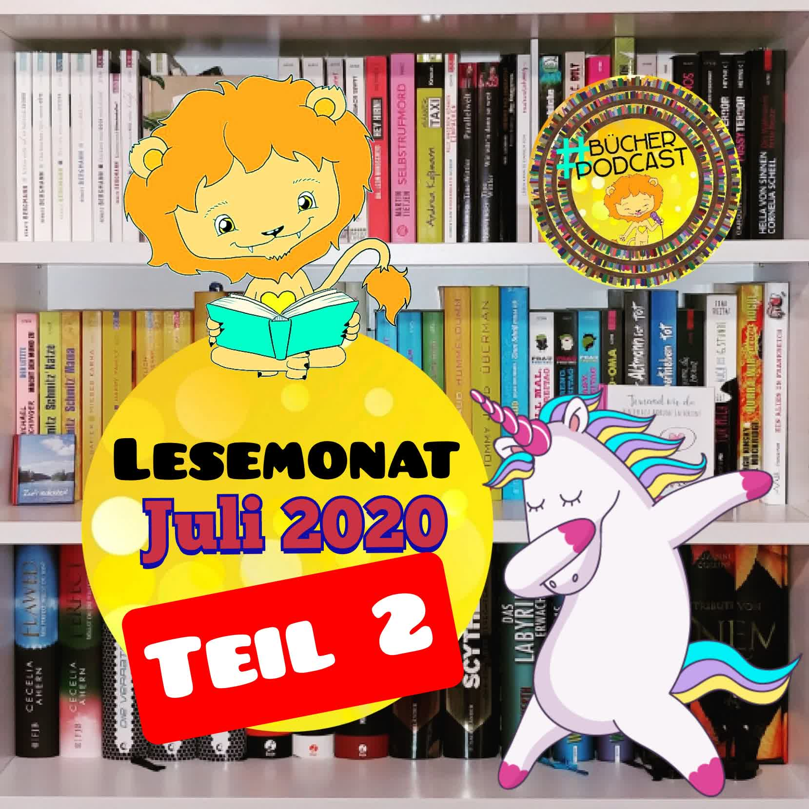 Lesemonat Juli 2020 - Teil 2