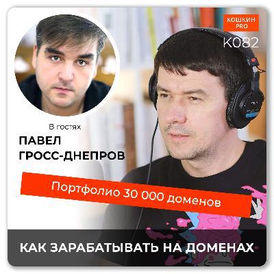 K082: Как зарабатывать на доменных именах. Павел Гросс-Днепров