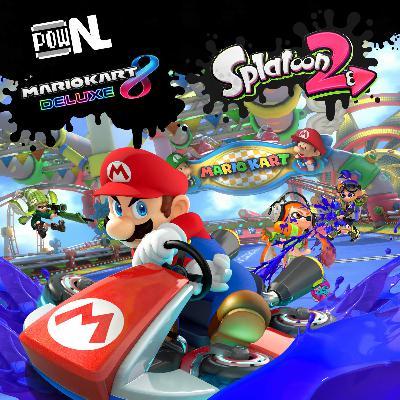Nintendo POWdcast #95 – Mario Kart 8 Deluxe e Splatoon 2