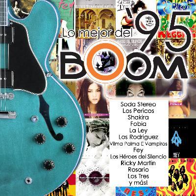 """Programa de Rock en Español """"Fuego Rock"""" con Kike Posada en Miami, 1995"""