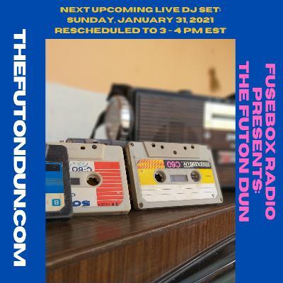 Episode 482: FuseBox Radio #634: DJ Fusion's The Futon Dun Livestream DJ Mix Winter Session #1 (Carhartt Cold With The Coffee Hot Music Mix #1)