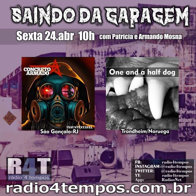 Rádio 4 Tempos - Saindo da Garagem 18:Rádio 4 Tempos