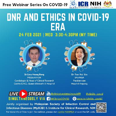 DNR, Ethics and End-of-Life in COVID-19 Era