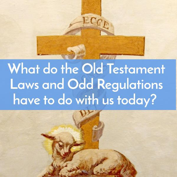 What do the Old Testament Laws & Odd Regulations have to do with us today? Plus Typology explained.