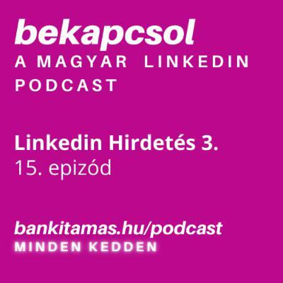 15. epizód - Linkedin Hirdetés 3. - Linkedin Kampány Menedzser