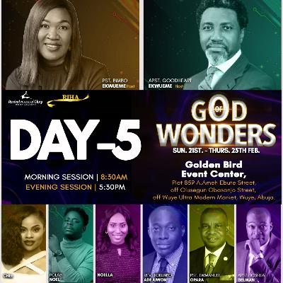 RIHA-IC 2021_(Day 5 Evening)Why is God Interested in Doing Wonders? 24-2-2021_Apostle Joshua Selman