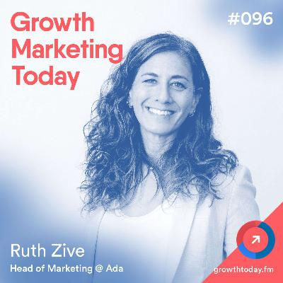 How to Make the Most Out of a Diminished Marketing Budget Due To COVID-19 with Ruth Zive, Head of Marketing at Ada (GMT096)