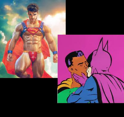 Episode 27:  (How gay were Superman and Batman really?)