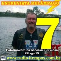 Rádio 4 Tempos - Entrevista Relâmpago 18