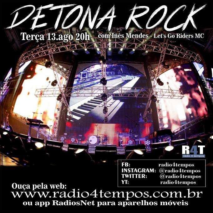 Rádio 4 Tempos - Detona Rock 19:Rádio 4 Tempos