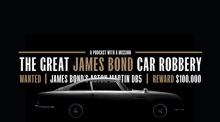 The Great James Bond Car Robbery | 007 | Mission | Heist | True Crime