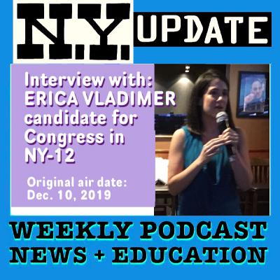 Interview: Erica Vladimer for Congress in NY-12.