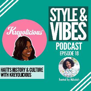SV 18: Haiti's History & Culture with Kreyolicious