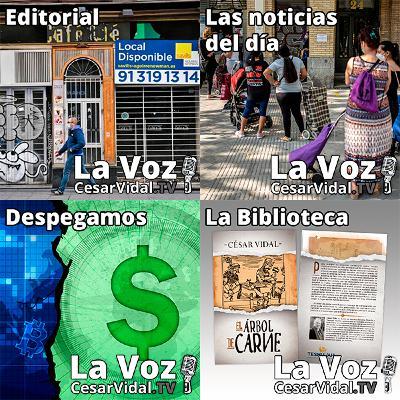 Programa Completo de La Voz de César Vidal - 15/07/21
