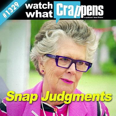 GBBO: Snap Judgments