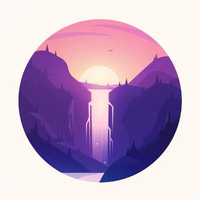 آبشار صورتی